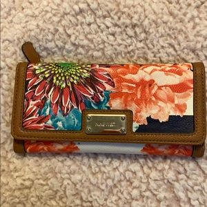 Nine West Floral Wallet